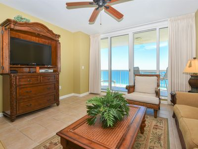 Photo for Beach Front Condo: Access to Resort Amenities! Two Pools & Free Beach Service!