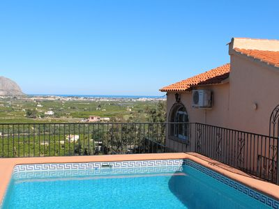 Photo for DETACHED VILLA WITH SWIMMING POOL AND SUPER VIEW