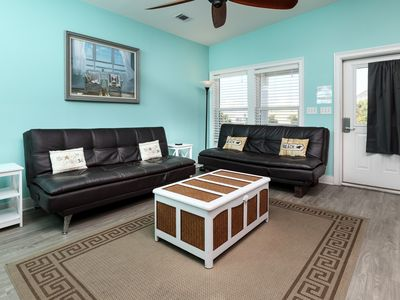 Photo for Wright at Home - Navarre Beach! Dog friendly! Free beach chairs & umbrella! Washer/dryer in-unit!