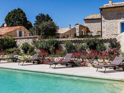 Photo for Stunning private villa with pool, WIFI, TV, washing machine and parking
