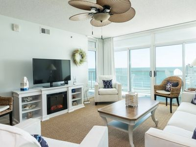 Photo for Blue Water Keyes -  804 Gorgeous 3 bedroom condo overlooking the ocean!