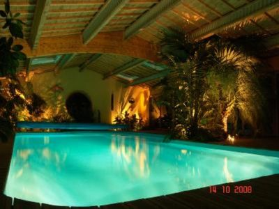 Photo for Villa with inside heated swimmingpool 29°