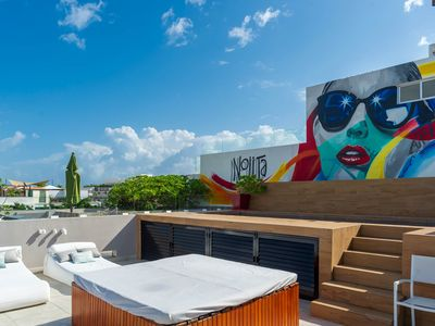 Photo for Luxury Living In A Prime Downtown Location in Playa del Carmen +WIFI +Parking