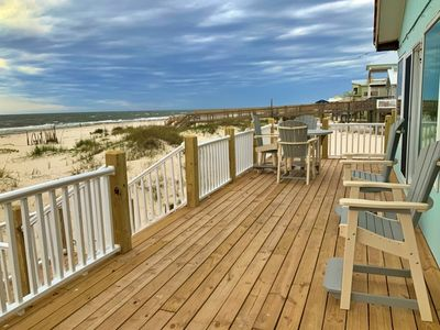 Photo for ALL NEW WITH A VIEW!! Total RENO!  3BR/2BA Gulf Front!