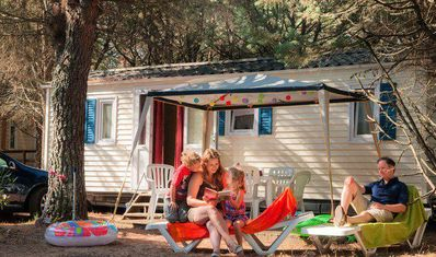 Photo for Camping Les Rives du Luberon **** - Bungalow 3 rooms 4/6 people
