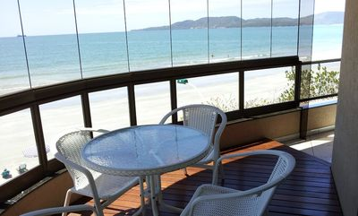 Photo for Beautiful Apt Itapema Meia Praia Beachfront for 6 people, high standard, WiFi