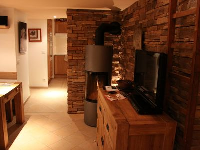 Photo for THE BEZ - Serre Che 1450 - Beautiful Apt 46m2 RdJ, Calm, Foot of the slopes