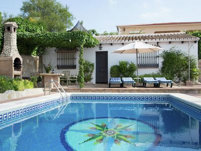 Photo for Traditional Andalusian holiday home with private swimming pool in La Higuera
