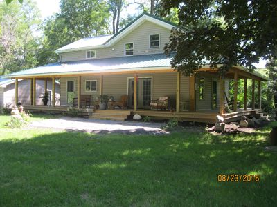 Photo for Remodeled Farmhouse on 23 Private Acres
