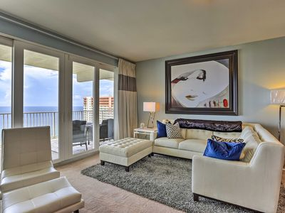 Photo for NEW! Modern PCB Resort Condo w/Oceanfront Balcony!