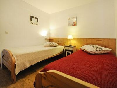 Photo for Surface area : about 60 m². Living room with bed-settee. Bedroom with double bed