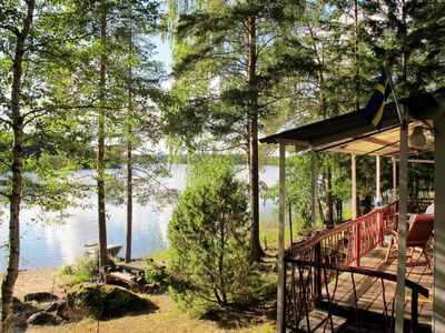 Photo for Vacation home Älgnäs (HSL040) in Hälsingland - 4 persons, 1 bedrooms