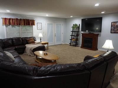 Photo for Spacious upstairs 4 bedroom, 1 bath, with full kitchen Cabin