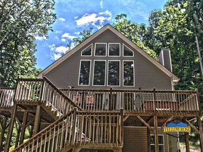 Photo for Up The Creek is a fantastic family getaway cabin tucked away in the woods