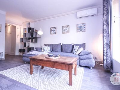 Photo for Nice apartment with a bright garden in the city center