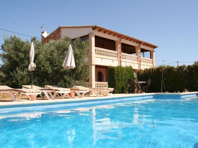 Photo for Na Corma with pool, wifi, air conditioning, sea view, near Cala D'Or