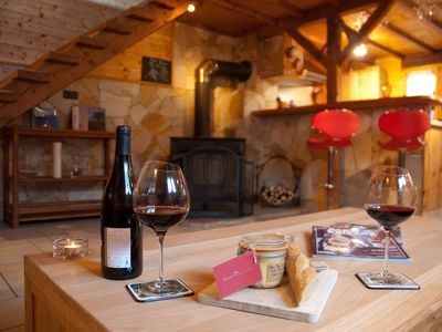 Photo for 5* Cosy Chalet in the French Alps, ideal for a couple