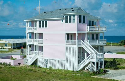 Photo for Exclusive HI Estates! Oceanview, Rodanthe w/Pool, Hot Tub, Game Rm, Dog-Friendly