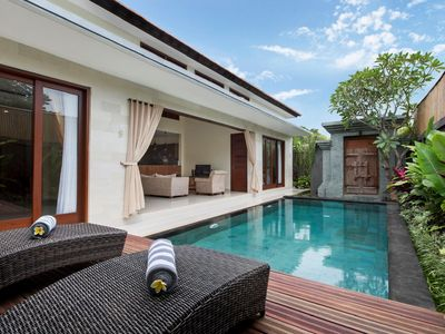 Photo for Seminyak 2 BDR Villa Private Pool - Bali Deli area - FREE Airport Transfer