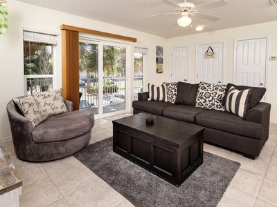Photo for Quaint unit, Steps to the beach. Quick drive to restaurants