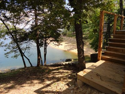 Photo for Moon River - Lakefront 4 bedrooms - Spectacular Year Round Lake View