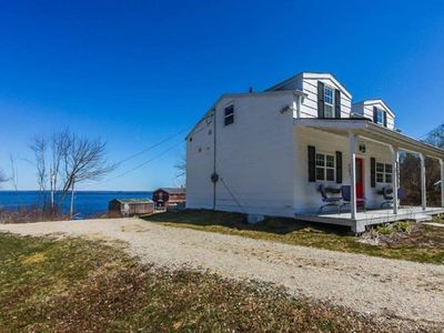 Photo for Oceanview Cottage Walking Distance to the Beach.