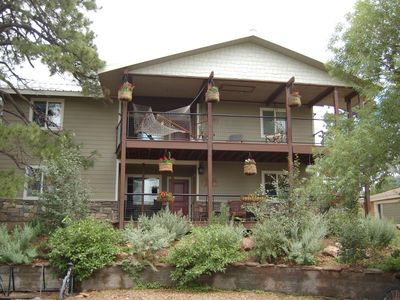 Photo for Flagstaff 4 bed/4 bath Hideaway-AVAILABLE LONG TERM for NAU students!