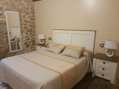 Photo for 1BR Apartment Vacation Rental in combarro