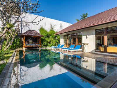 Photo for Two Bedroom Villa near Seminyak, 2 mnts walk to the Beach