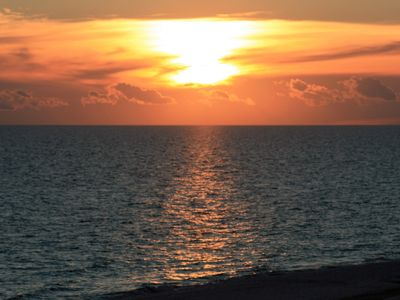 Beautiful Sunsets Seen from Amalfi's Coast Resorts Beach