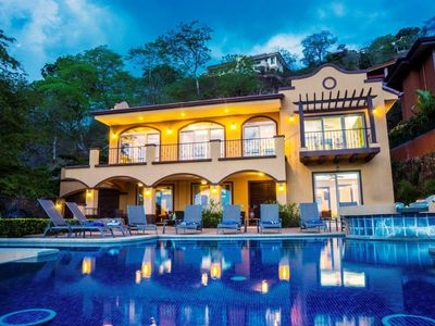 Photo for Beautiful Views Of Peninsula Papagayo Abound! Beach Entry pool for the toddlers!