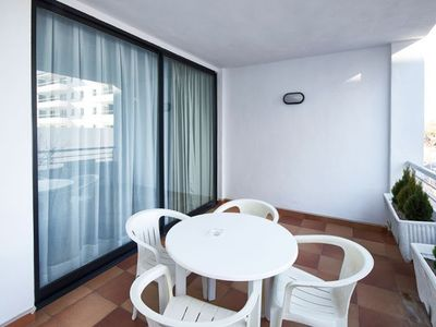 Photo for Air-conditioned Suite with Private Balcony a Stroll from the Beach!