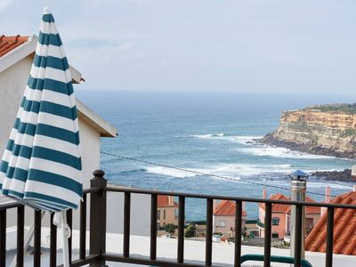 Photo for Rooms in Ribamar da Ericeira, with balcony Sea view, kitchen terrace 2 wc,