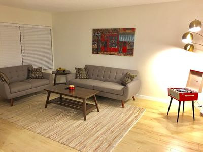 Photo for Upgraded Retro Style New Furnished 1BD/1BA Apartment in Brentwood