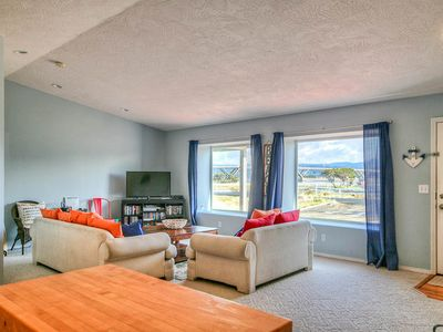 Photo for Gorgeous Bay Views from this Updated Modern Pet Friendly Home!