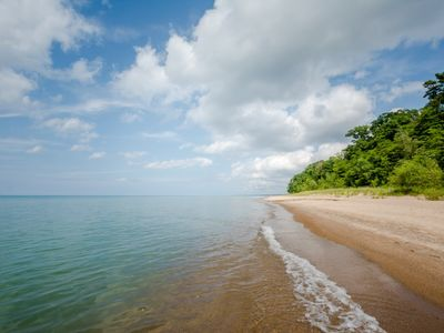 Photo for (June 22-29 Discounted!)  Private Home Near Majestic Lake Michigan Beach With No Stair Access!