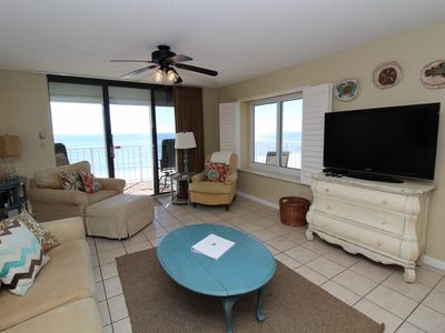Photo for Summerchase 508-Beach Front Views from Huge Terrace with Luxurious Interior!