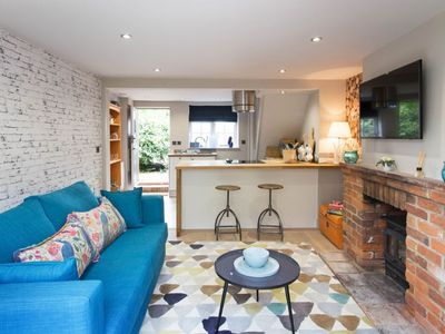 Photo for A beautiful, newly-renovated cottage offering luxurious accommodation for two