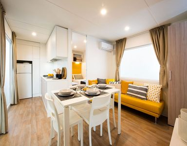 Photo for A. Rialto Mobile Home, Adria Holiday - Pra' Delle Torri
