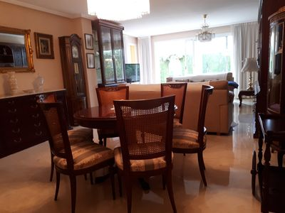 Photo for Ground floor with garden in Playa S Juan, Alicante Golf, WIFI