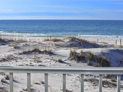 Photo for No Contact check in and check out. Renovated Summer 2017 Gulf Front, King Bed & Large Balcony