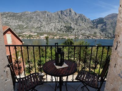 Photo for Venetian 2-store penthouse with 2 bedrooms&amazing sea views in 2 min from sea