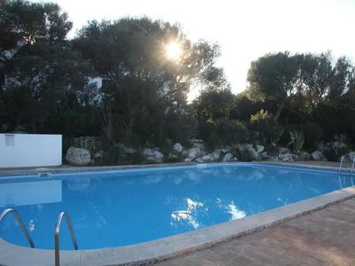 Photo for Playa Son Bou - apartment with sea view