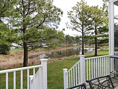 Photo for 11SYC: Dog Friendly! 4BR & Den Bear Trap Dunes Home on Pond - Pools, Golf, Tennis...