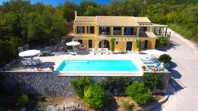 Photo for Stylish, Secluded Villa With Large Infinity Pool Stunning Views Across To Albani