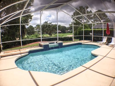 Photo for South Facing Pool Southern Dunes Gated Golf Community-Golf View
