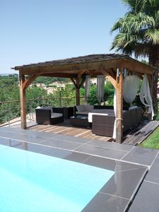 Photo for house 190 m2 pool 10x5 3 km from the sea