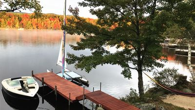 Photo for Historic Property and Renovated Log Home - just 12'ft away from the lake