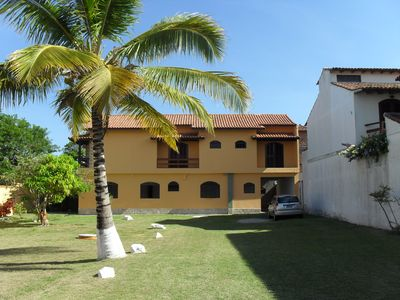 Photo for Large and independent house with 5 suites for 22 people, on the beach of Peró.