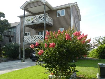Photo for ** Short stroll  to the beach  plus private boat dock **